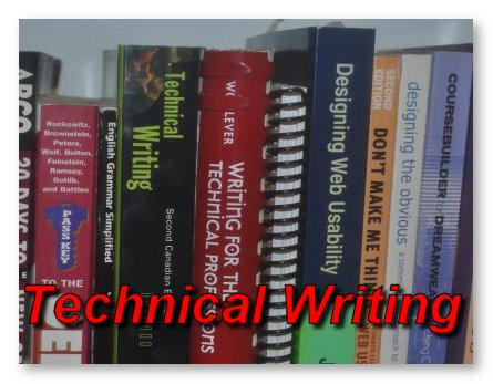 technical writing canada Technical-writing courses introduce you to some of the most important aspects of writing in the worlds of science, technology, and business—in other words, the kind of writing that scientists, nurses, doctors, computer specialists, government officials, engineers, and other such people do as a part of their regular work.